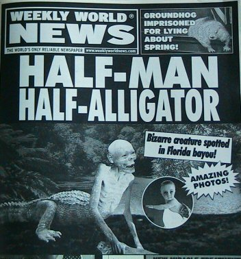 Half Man Half Alligator