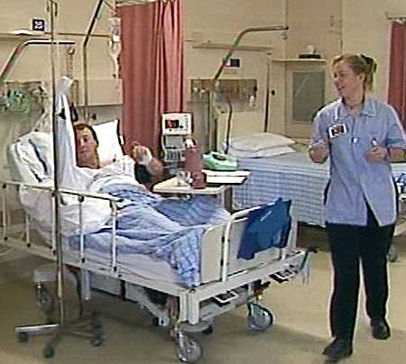 Sick Patient In Hospital Bed : Sick Patient In Hospital Bed Images & Pictures - Becuo
